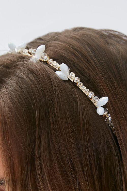 Faux Gem Rhinestone Headband, image 2