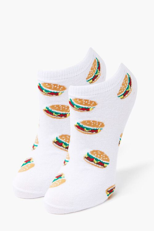 Burger Ankle Socks, image 1