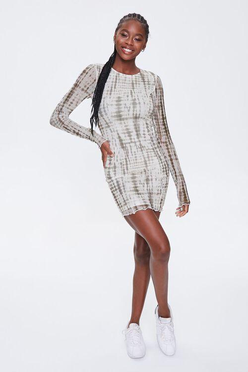 Tie-Dye Bodycon Mini Dress, image 4