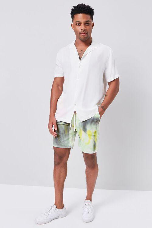 Tie-Dye Drawstring Shorts, image 5