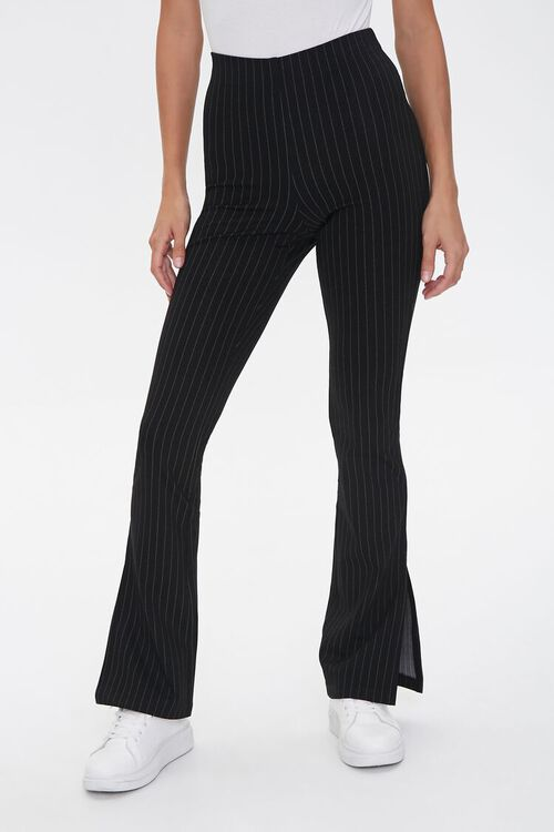 Pinstriped Flare Pants, image 2