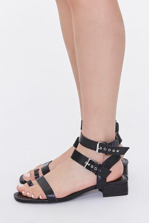 Caged Block Heel Sandals, image 2