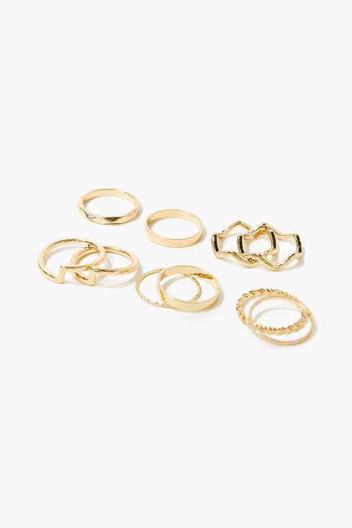 GOLD Variety Ring Set, image 1