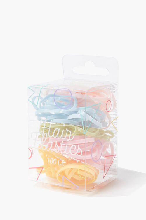 Hair Elastics Pack - 100 ct, image 2