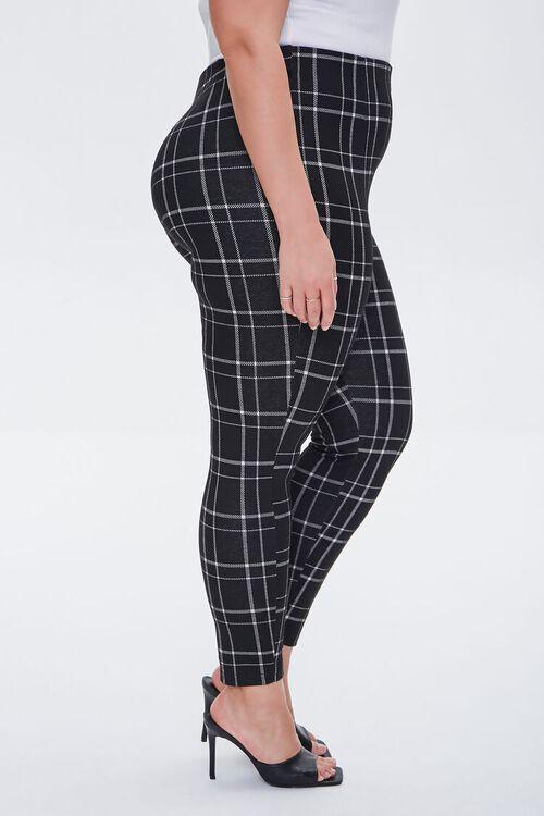 Plus Size Plaid Leggings, image 3