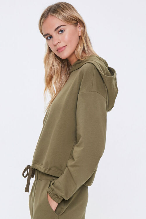 Hooded French Terry Top, image 2