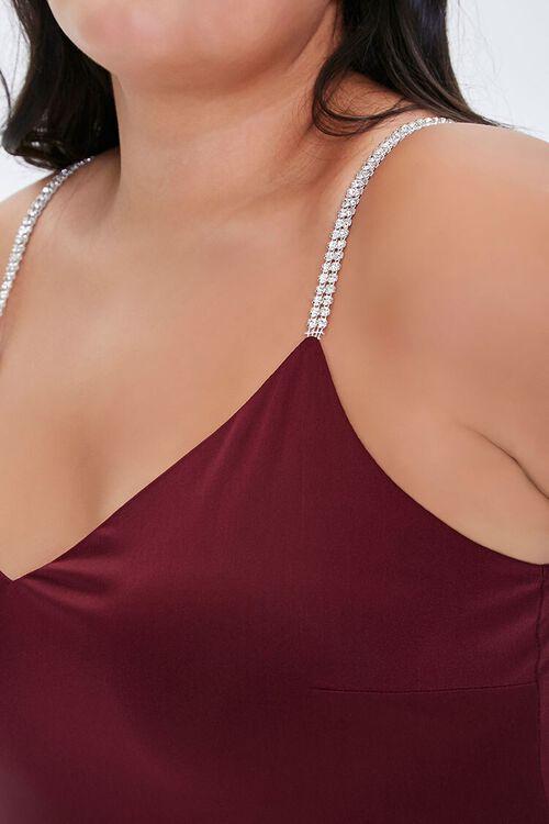 Plus Size Rhinestone Bodysuit, image 6