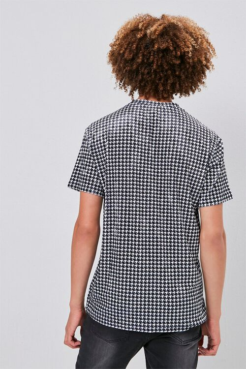 Velour Houndstooth Tee, image 3