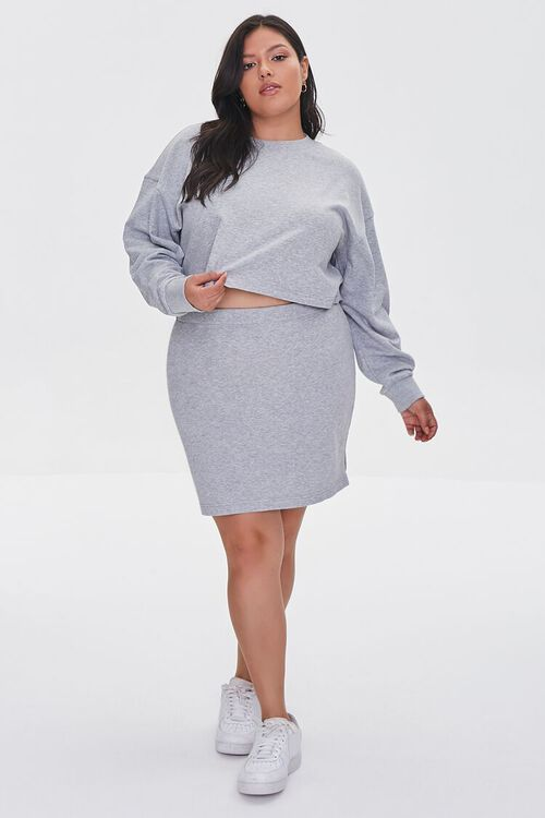 Plus Size French Terry Pullover, image 4