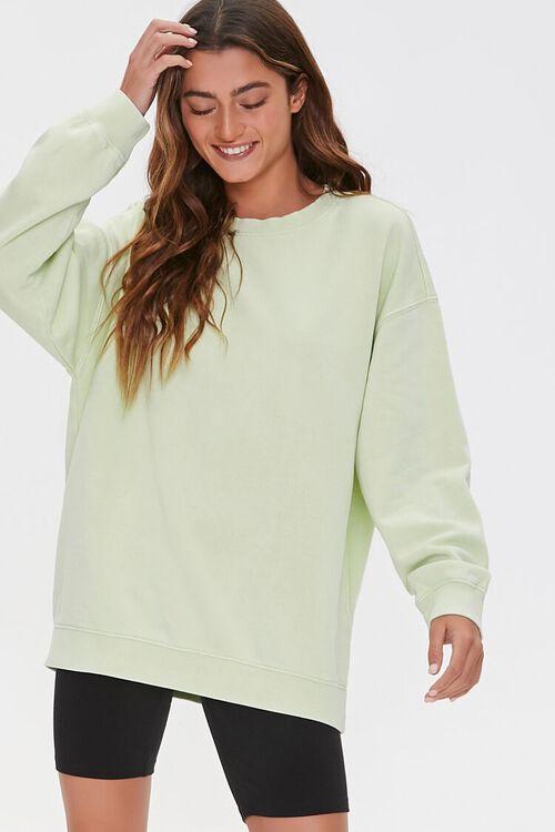 Oversized Fleece Sweatshirt, image 1