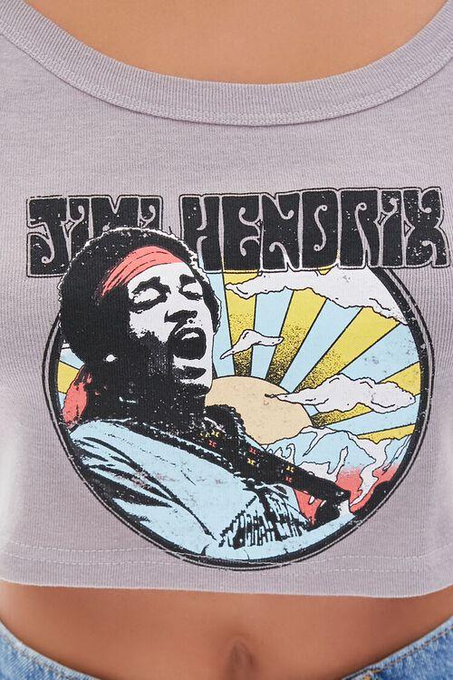 Jimi Hendrix Graphic Cropped Cami, image 5