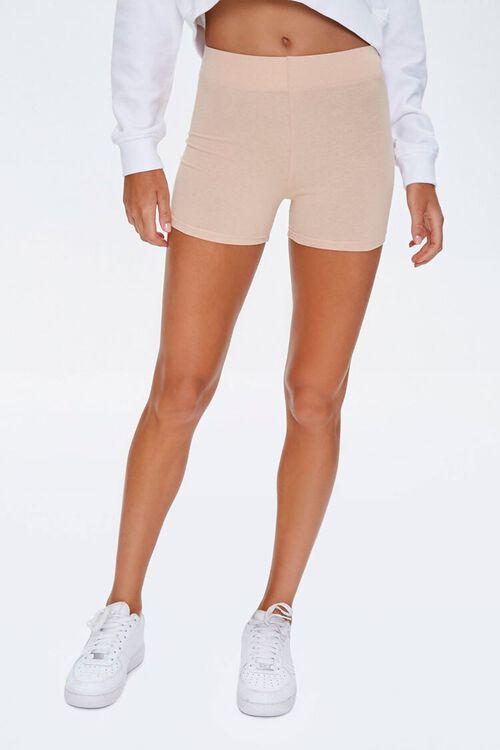 Cotton-Blend 3-Inch Biker Shorts, image 2