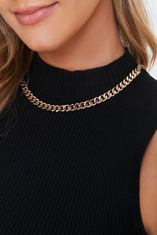Curb Chain Necklace, image 1
