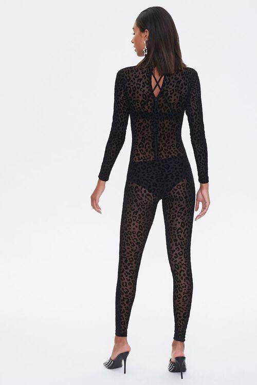 Leopard Print Lingerie Jumpsuit, image 3