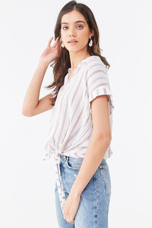 Striped Drawstring Shirt, image 2