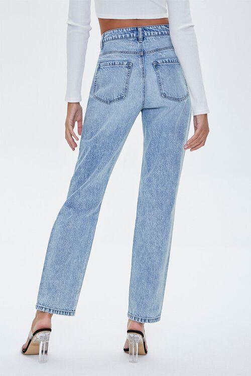 Distressed Rhinestone-Trim Jeans, image 4