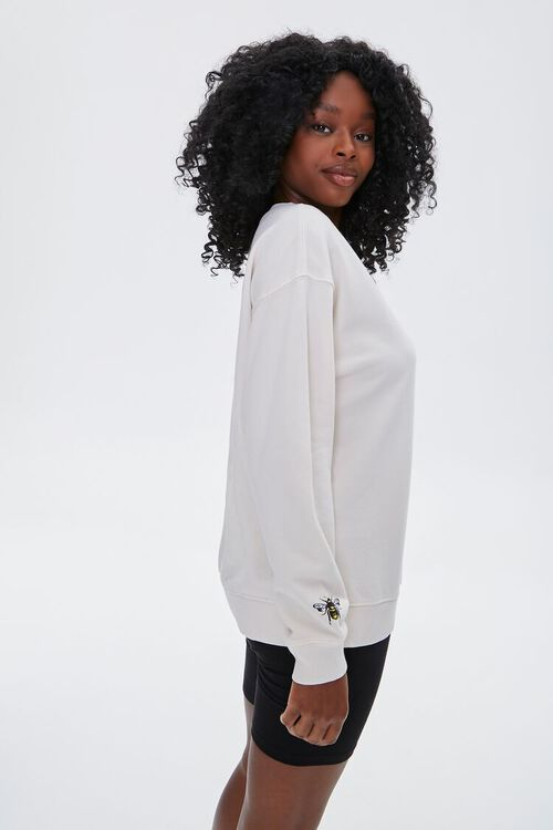 French Terry Bee Kind Pullover, image 3