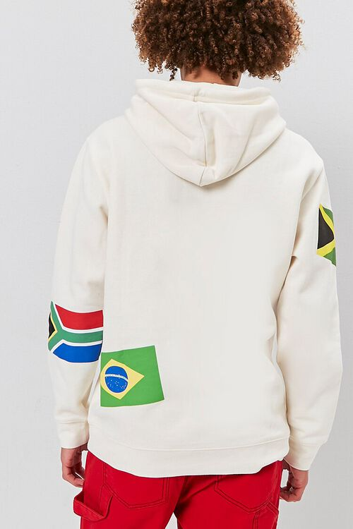 World Flags Graphic Hoodie, image 4