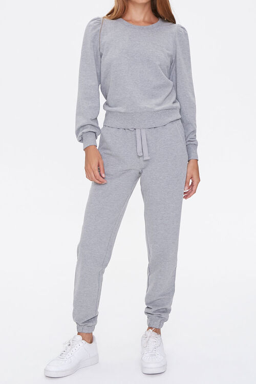 French Terry Top & Joggers Set, image 1