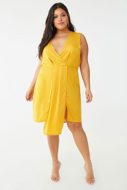 Plus Size Missguided Sleeveless Mini Dress, image 4