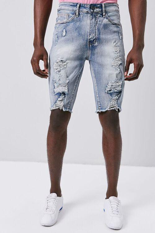 Distressed Denim Shorts, image 2
