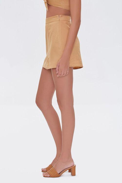 Linen-Blend Skirt, image 3