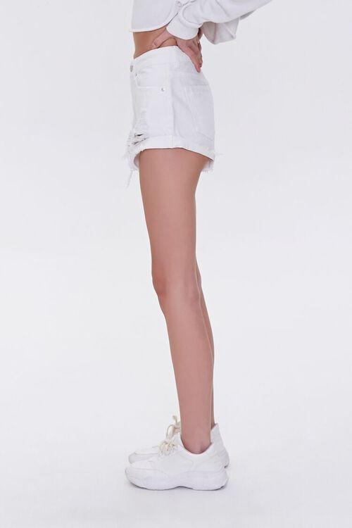 Frayed Denim Shorts, image 3