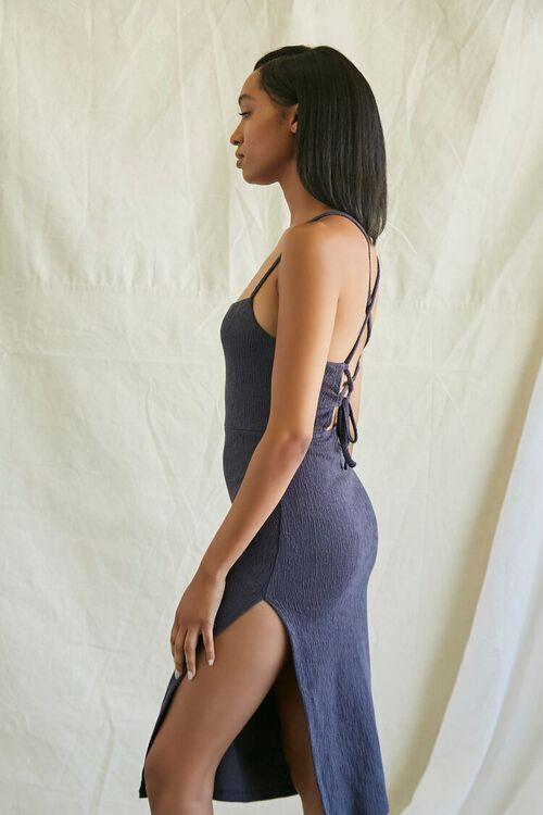NAVY Lace-Back Cami Dress, image 3
