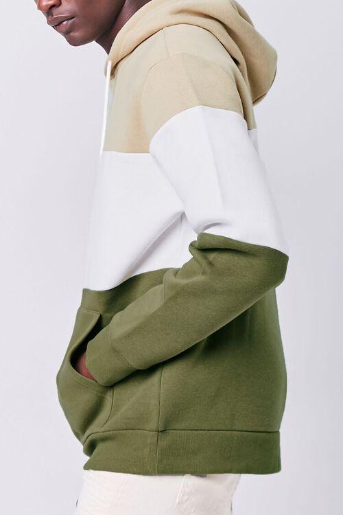Colorblock Fleece Hoodie, image 2