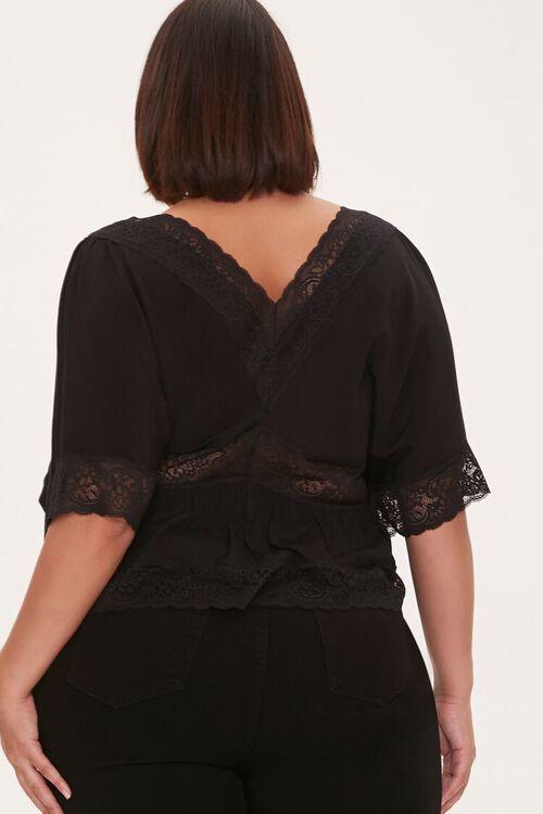Plus Size Lace-Trim Top, image 3