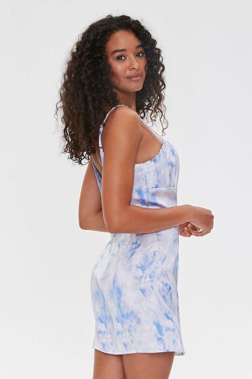 BLUE/WHITE Cloud Wash Cami Mini Dress, image 2