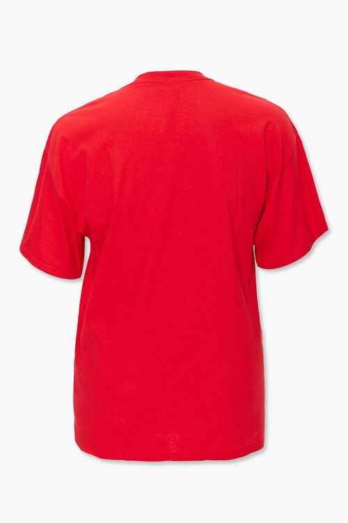 RED/MULTI Plus Size Jaws Graphic Tee, image 2