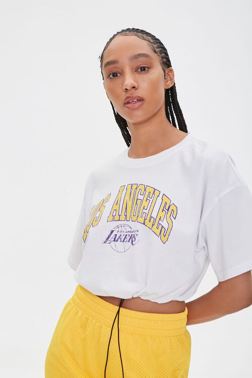 Los Angeles Lakers Cropped Tee, image 5
