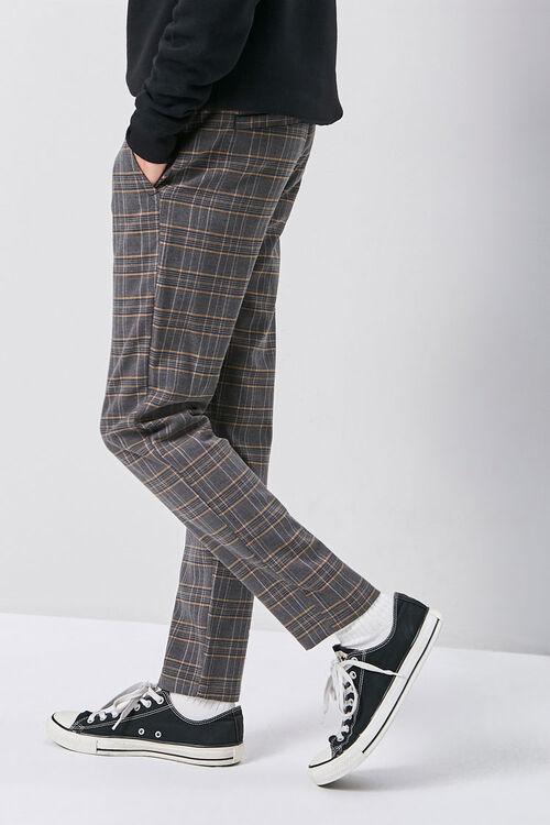 Glen Plaid Drawstring Pants, image 3