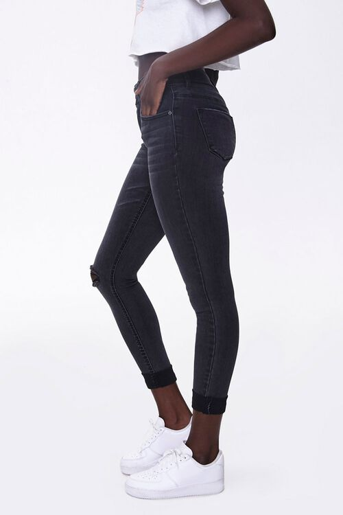 Recycled Skinny Ankle Jeans, image 2