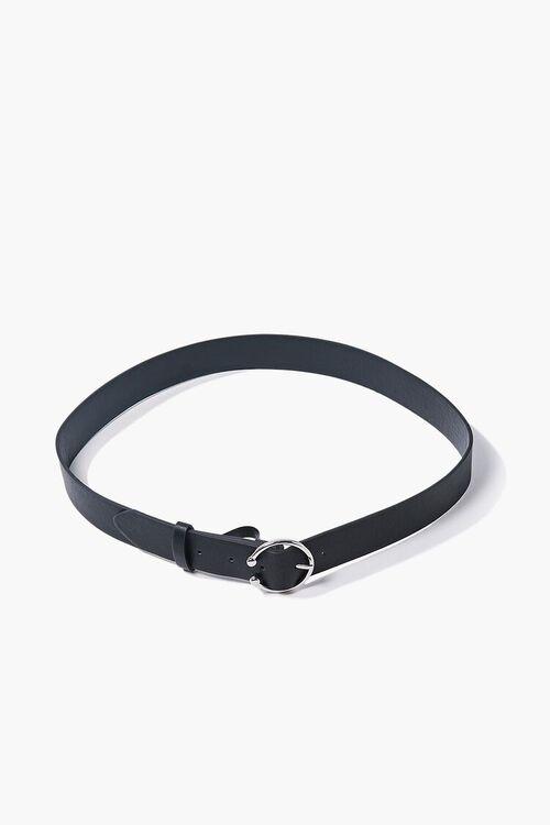 Faux Leather O-Ring Belt, image 2