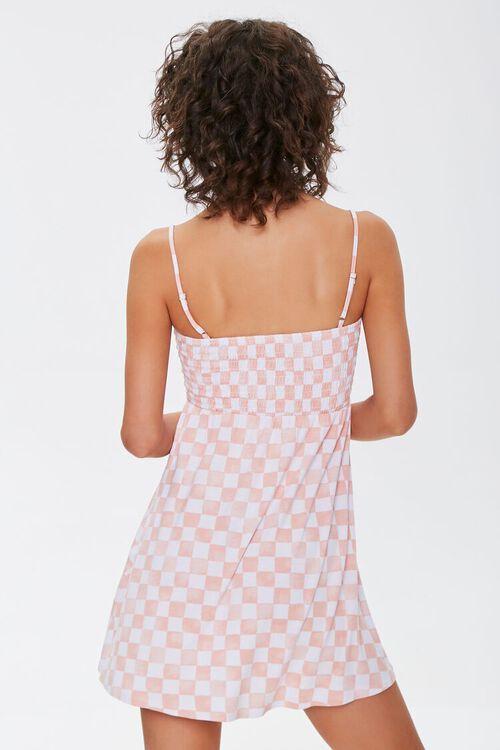 Checkered Mini Dress, image 3