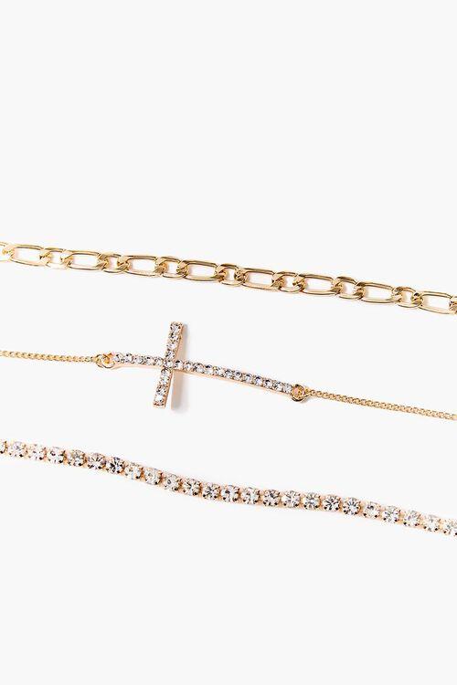 Cross Charm Bracelet Set, image 1