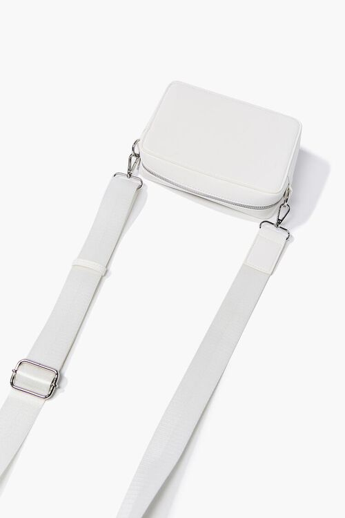 Faux Leather Structured Crossbody Bag, image 3