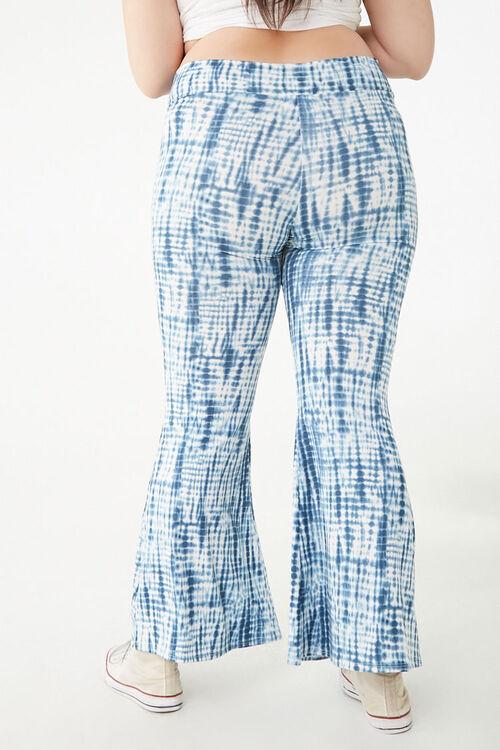 Plus Size Tie-Dye Flare Pants, image 4
