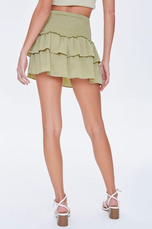Tiered Flounce Mini Skirt, image 4