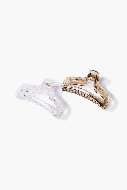 Transparent Claw Hair Clip, image 1