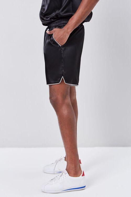 Satin Drawstring Shorts, image 3