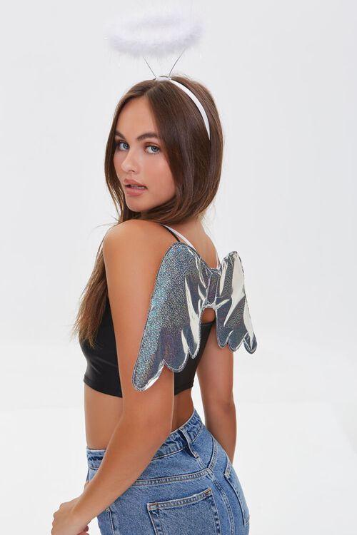 Angel Costume Headband & Wing Set, image 1