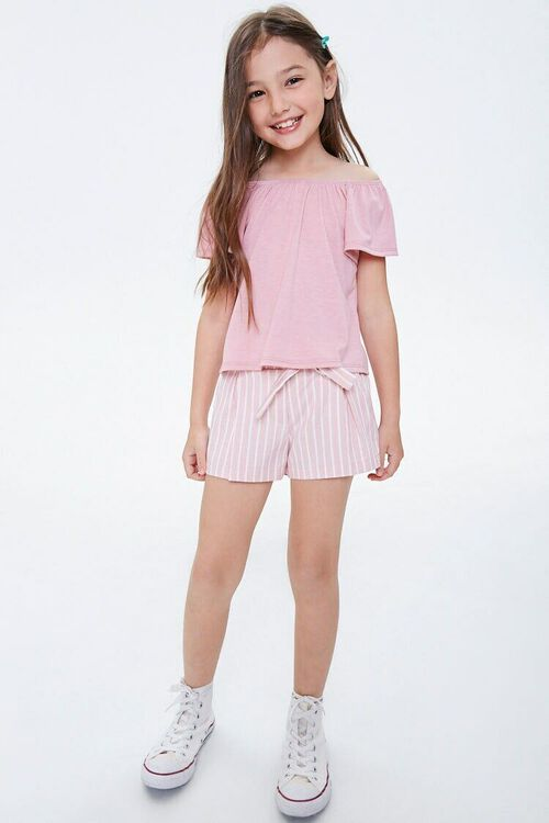Girls Butterfly Sleeve Tee (Kids), image 4