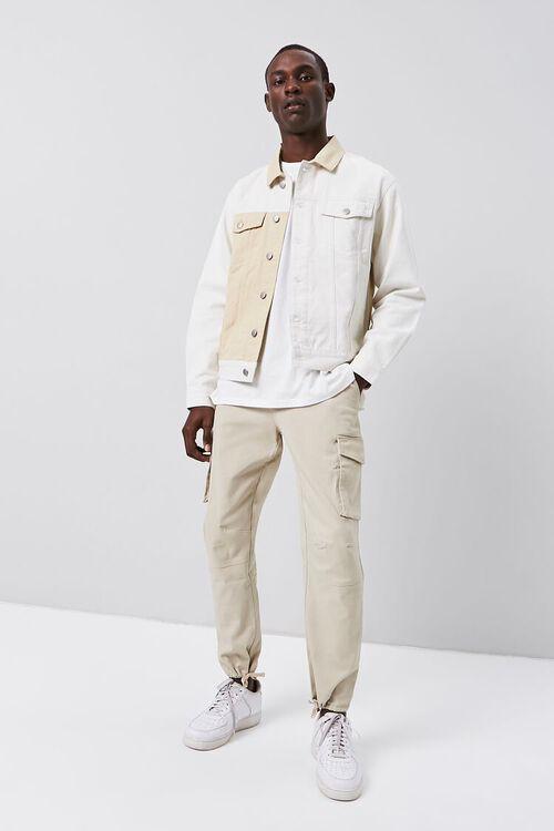 Colorblock Denim Jacket, image 5