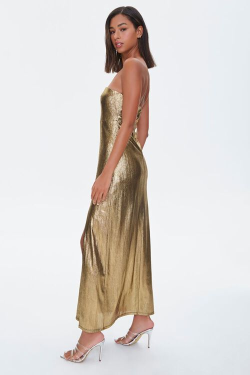 Metallic Maxi Dress, image 2