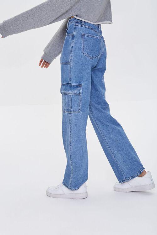 Straight-Leg Cargo Jeans, image 3