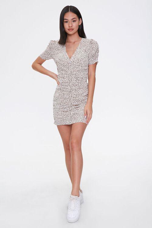 Cheetah Print Mini Dress, image 4