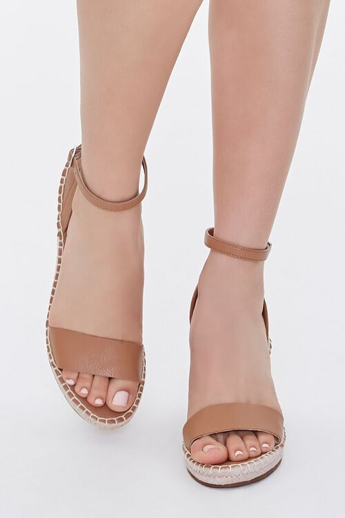 Strappy Espadrille Wedges, image 4